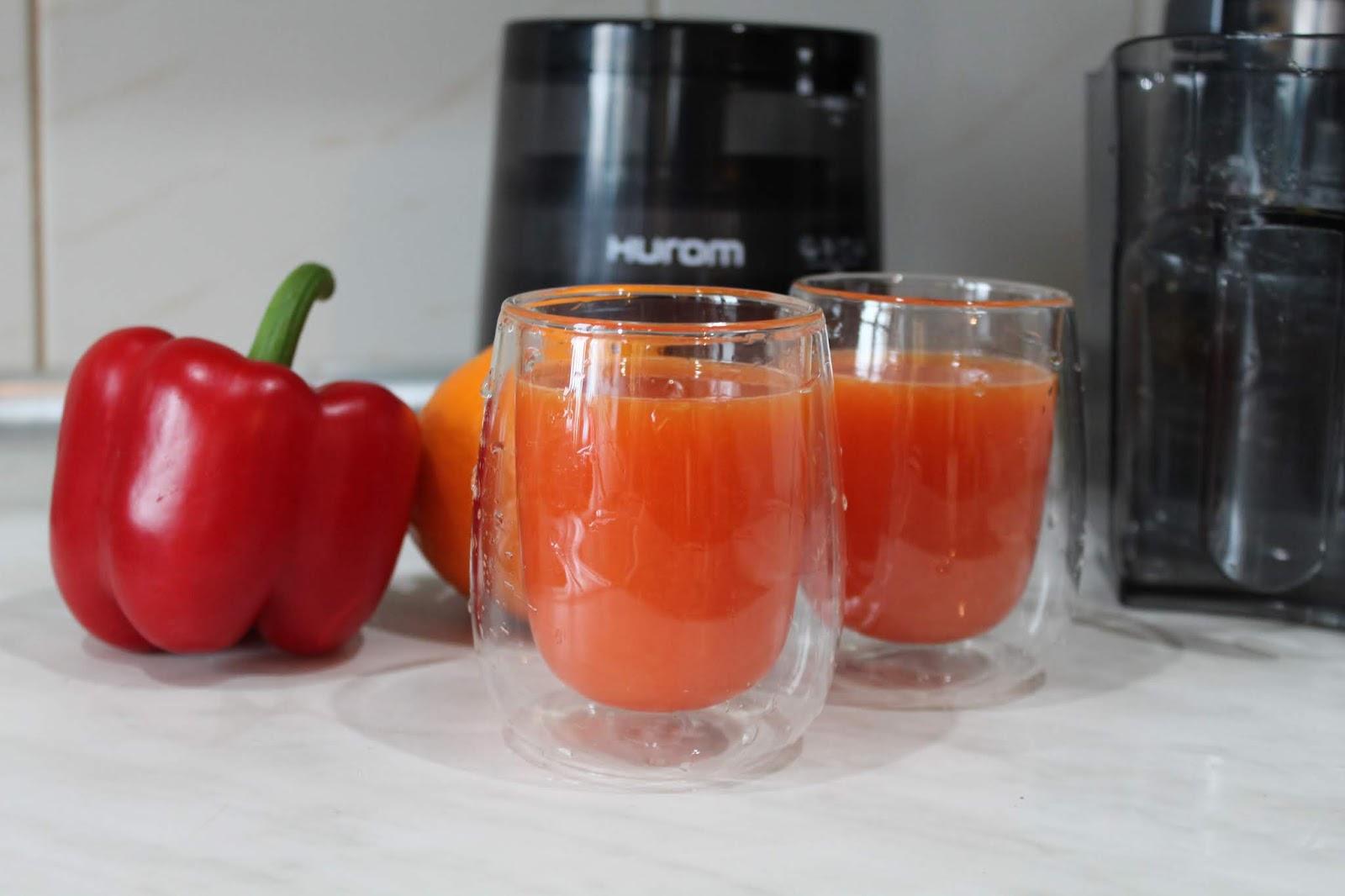 sok z papryki i pomarańczy na odporność