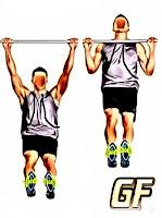Cara melatih otot punggung Pull up