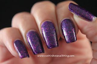 Etude House - Garnett Purple Sand - Matte Sand Glitters