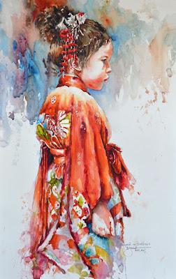 Bev Jozwiak watercolours