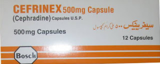 Cefrinex 500mg capsule
