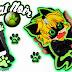 Funda para movil de chat noir chibi en foamy o goma eva