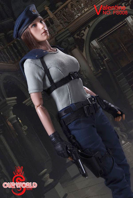 osw.zone SW Our World FS008 1 / 6. Scale Valentine figurine aka Jill Valentine by Resident Evil