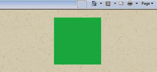 Cara membuat kotak persegi di Internet Explorer secara manual