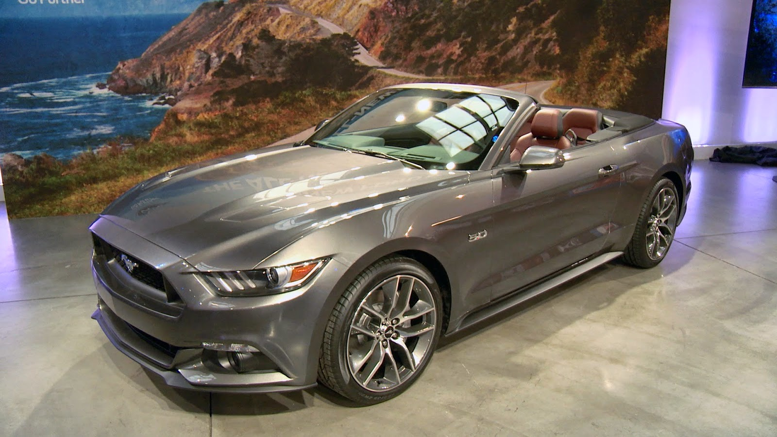 2017 Ford Mustang Ecoboost Premium >> 2015 Mustang GT Convertible Technical Review and price ...