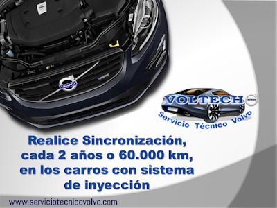 Sincronizacion Volvo VOLTECH