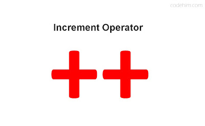 Cpp increment operator sign