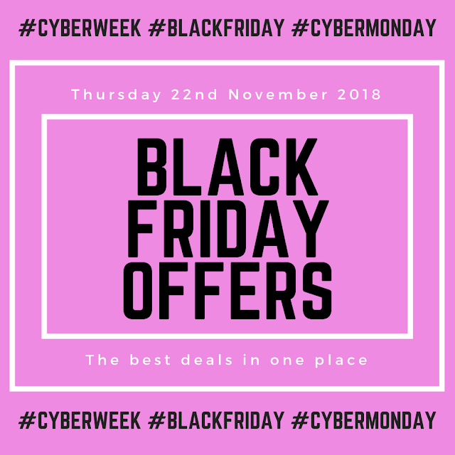 Lovelaughslipstick Blog 22ND NOVEMBER 2018 | ALL THE BEST BLACK FRIDAY DEALS IN ONE PLACE #BLACKFRIDAYDEALS #CYBERWEEK