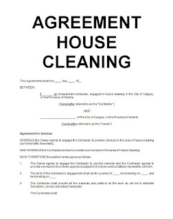 cleaning contracts