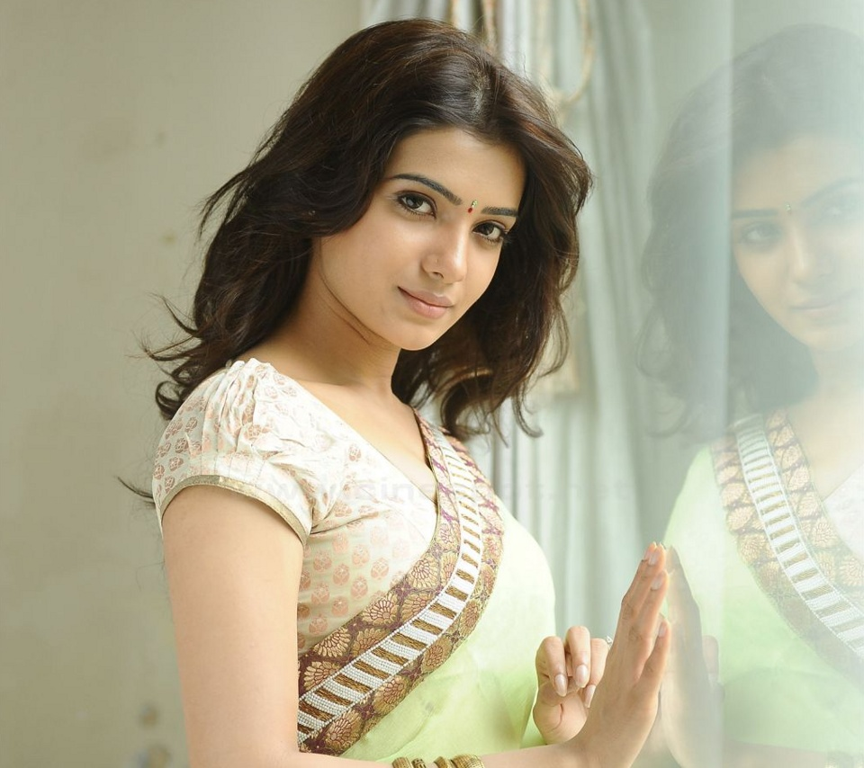 south indian actress wallpapers in hd: samantha ruth prabhu hd wallpaper