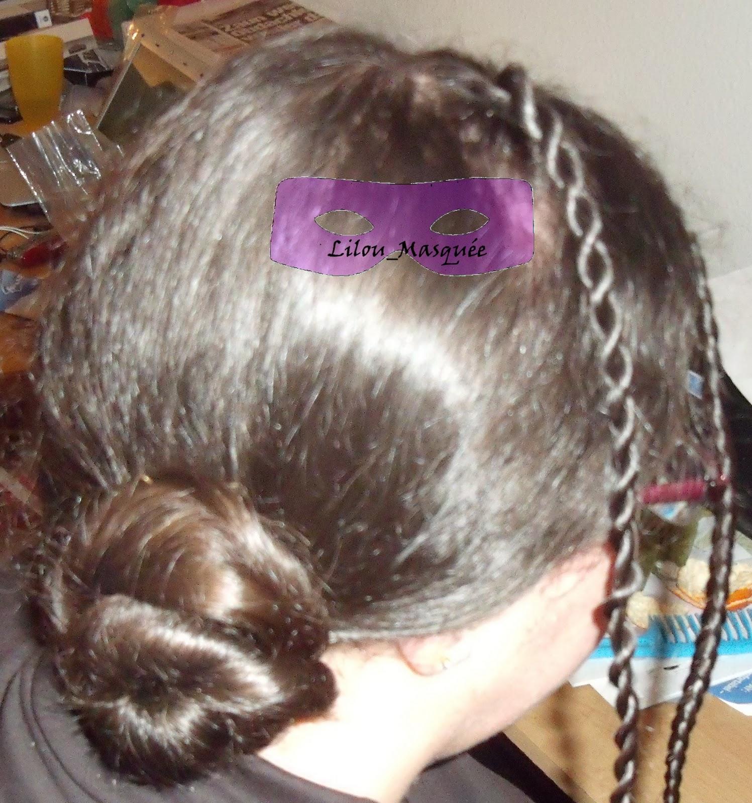 tuto coiffure chignon facile pour les f tes coiffure cheveux long extension cheveux. Black Bedroom Furniture Sets. Home Design Ideas