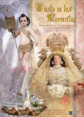Pilas - Cartel de Las Carreritas 2016 - Rafa Romero y Juan Valladares