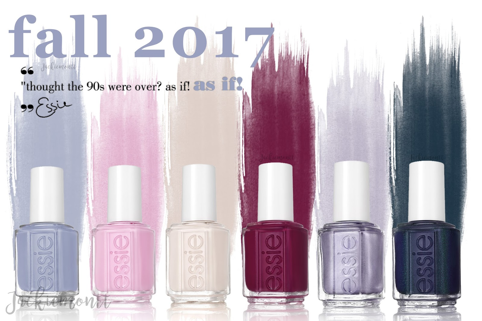Essie 💅🏽 | \'As If\' Fall 2017 - JACKIEMONTT