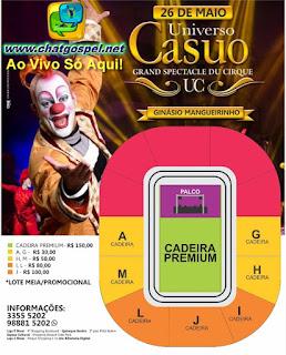 Transmissão ao Vivo do Circo Casuo no Mangueirinho em Belém