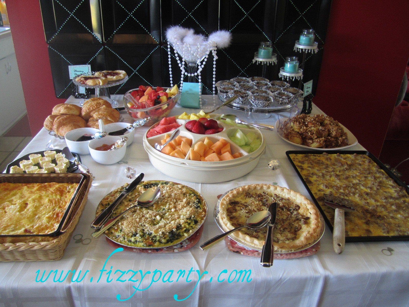 Fizzy Party Breakfast At Tiffanys Birthday Party