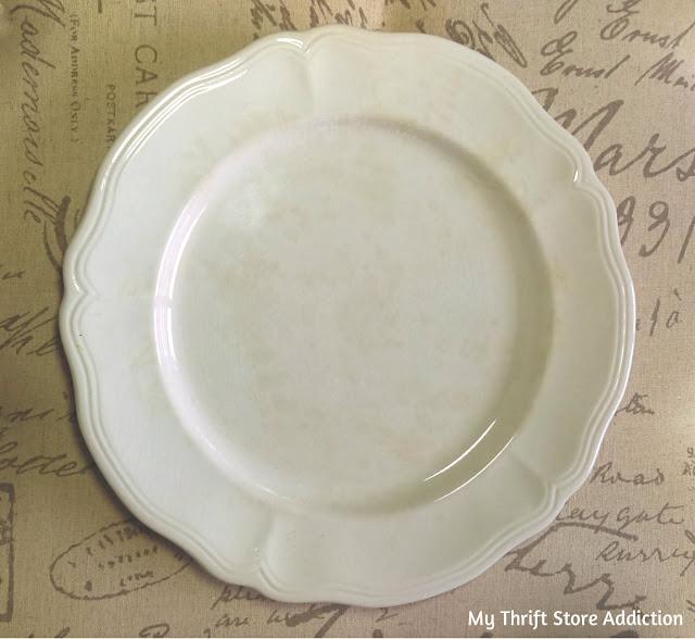 Vintage Federalist ironstone platter
