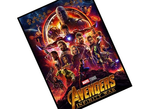 Avengers-Infinity War 2018 Review Poster
