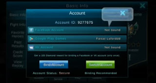 Cara Ganti/Switch Akun Mobile Legend