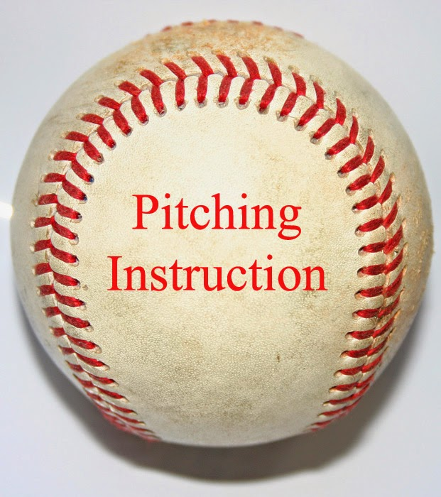baseball with the words pitching instruction