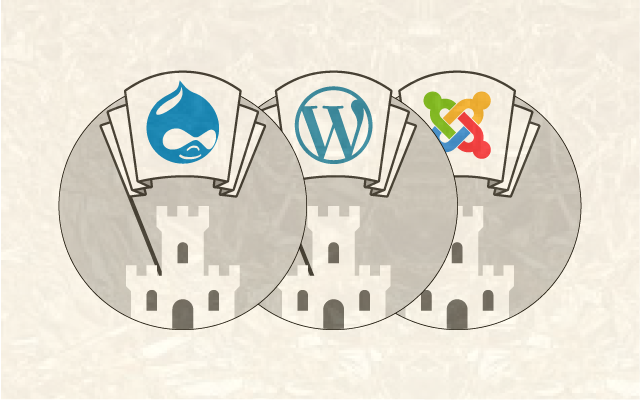 CMS Comparison: WordPress, Joomla, Drupal [Infographic]