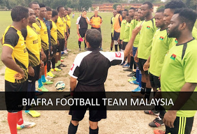 First Ever Biafra Football Clubs Play Against Each Other