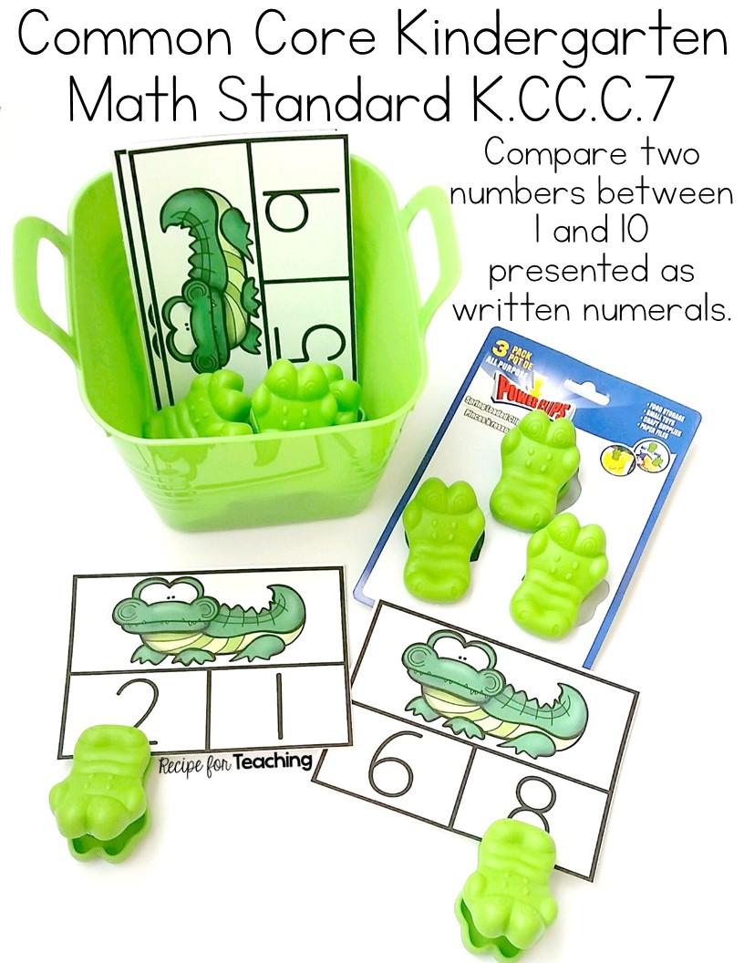worksheet Greater Or Less Than greater than and less alligator math recipe for teaching math