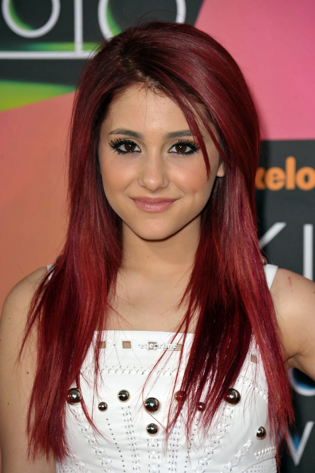 Ariana Grande Red Hair Dye