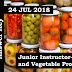 Kerala PSC -  Junior Instructor-Fruit and Vegetable Processing on 24 Jul 2018