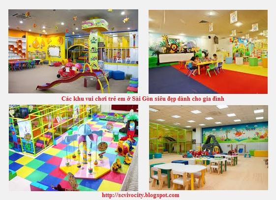 Các khu vui chơi trẻ em ở Sài Gòn siêu đẹp dành cho gia đình