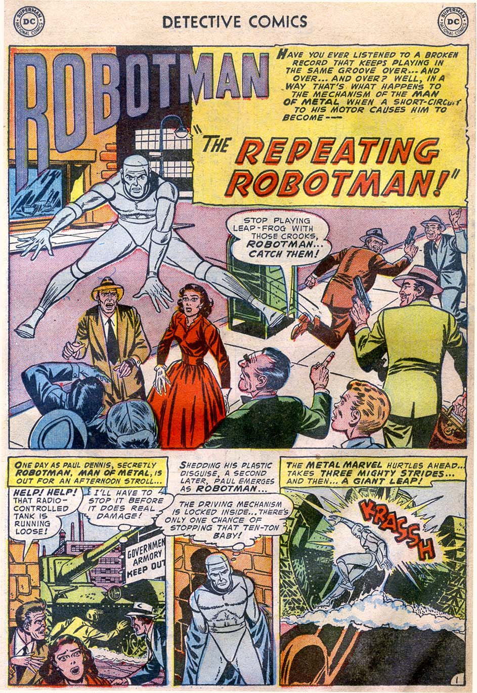 Read online Detective Comics (1937) comic -  Issue #196 - 25