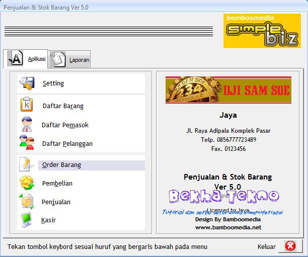 software kasir gratis full version