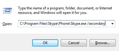 run,skype