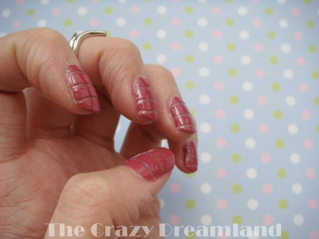 manicura rosa