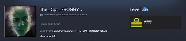 Steam En Yüksek Levelli Hesap froggy