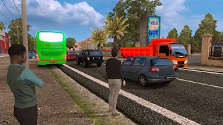 Mod Traffic Dump elf ets2