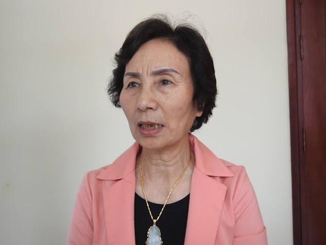 PGS.TS Bùi Thị An – nguyên ĐBQH khóa XIII