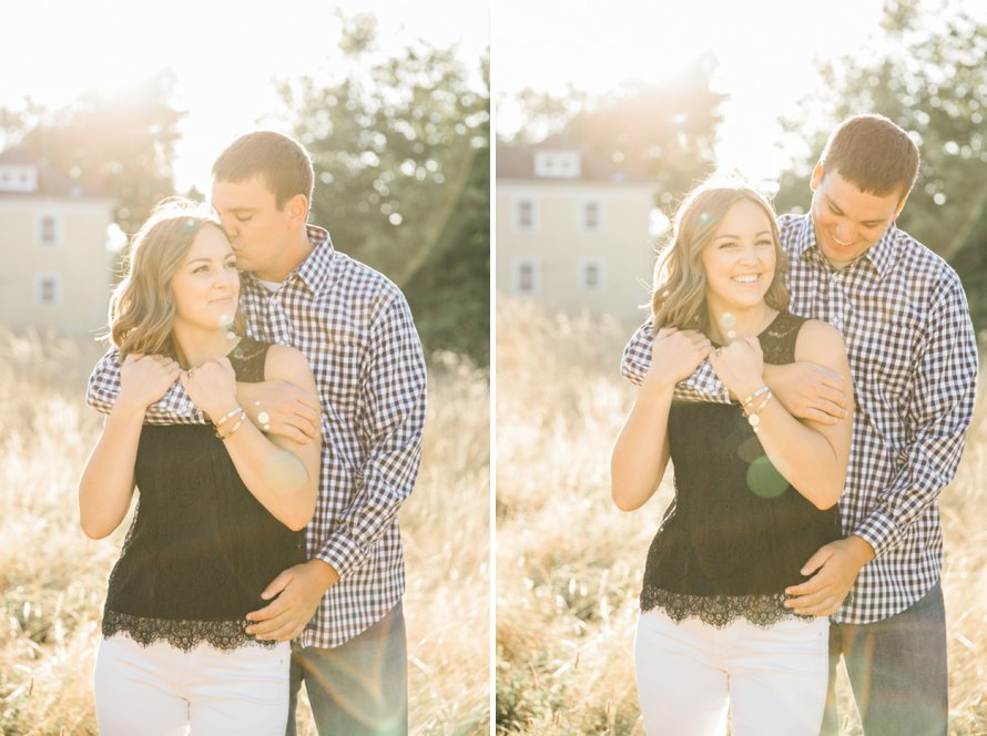 Dreamy Discovery Park Engagement Session by Seattle Photographer Something Minted Photography