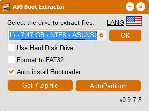 AIO Boot 0.9.7.15 poster box cover