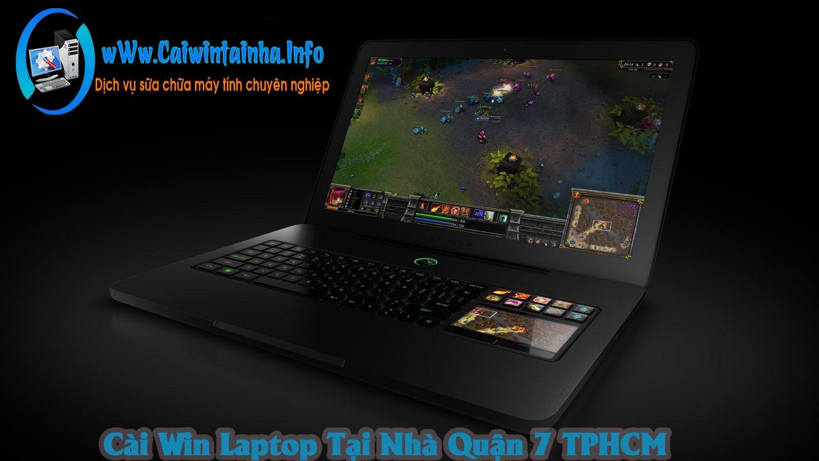 Cài Win Laptop Tại Nhà Quận 7 TPHCM