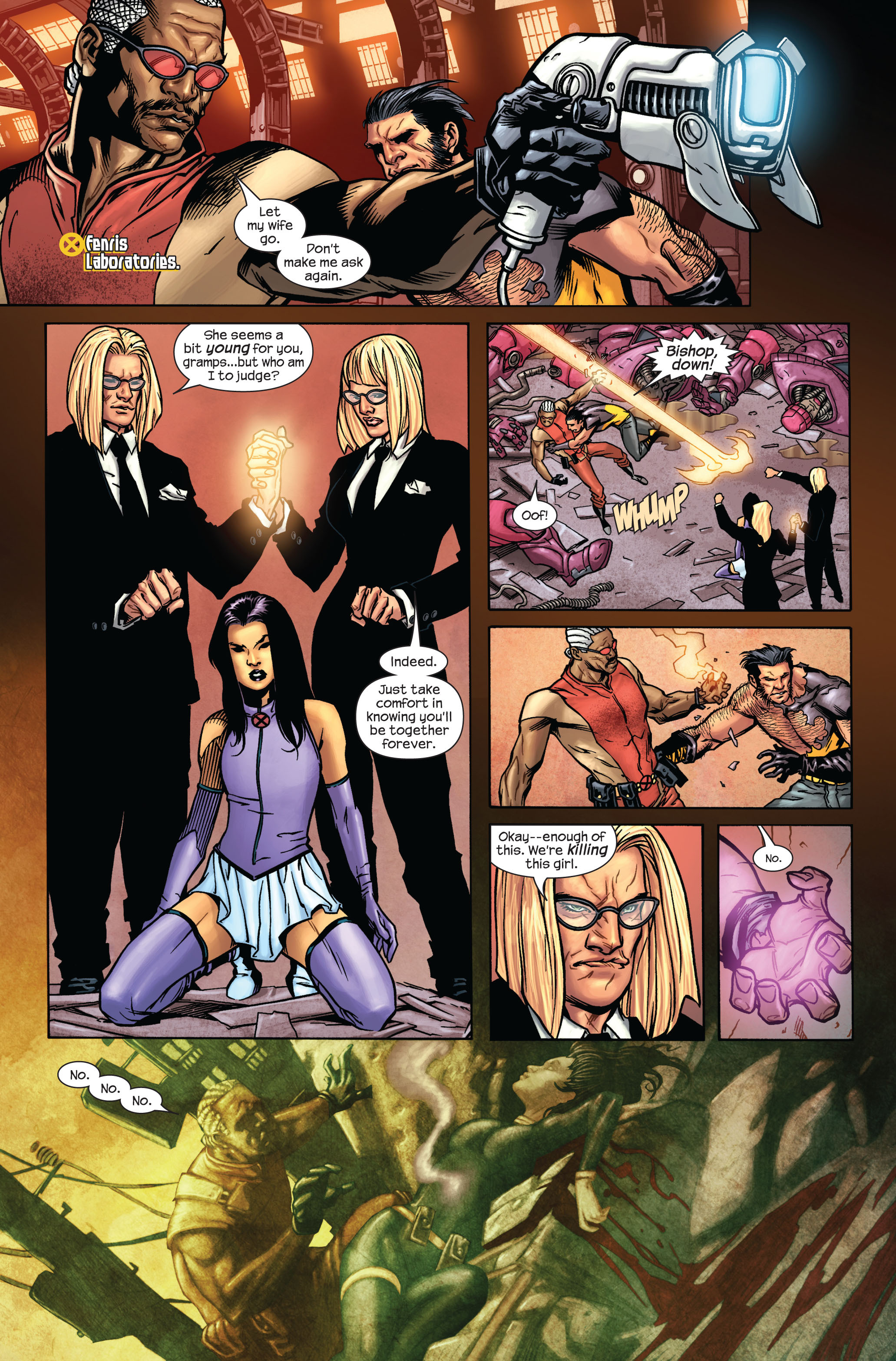 Read online Ultimate X-Men comic -  Issue #87 - 4