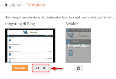 Cara menghapus share button bawaan blogger