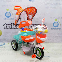 family aeroplane pesawat musik dobel tricycle