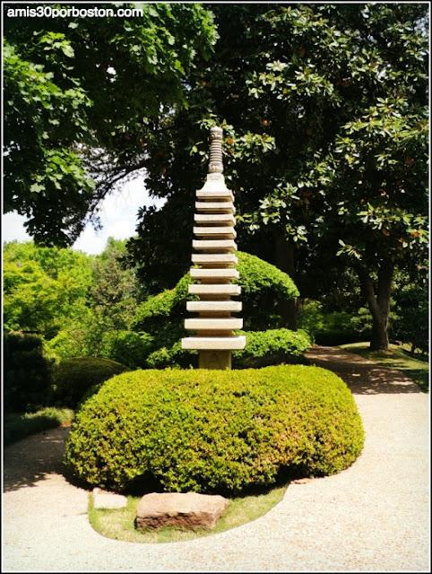 Pagoda de 11 Pisos del Jardín Japonés de Fort Worth