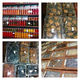 Doces, cachaças e pimentas mineiras na Doceria Flor de Lótus em Tiradentes - MG