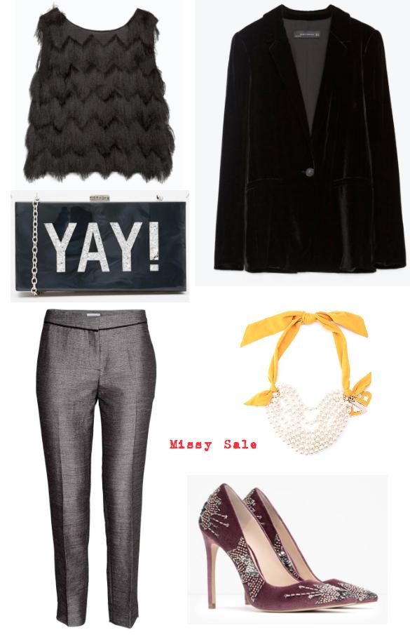 Vestir con más de 50 con estilo Look fiesta pantalón -Missy Sale-