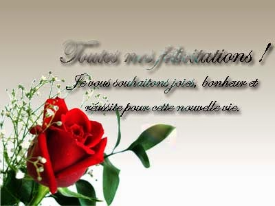Novembre 2014 invitation mariage carte mariage texte - Texte felicitation mariage original ...