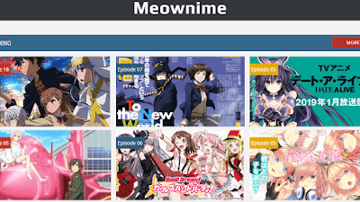 cara download anime di meownime