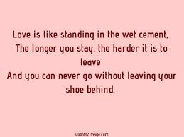 love and shoe quotes