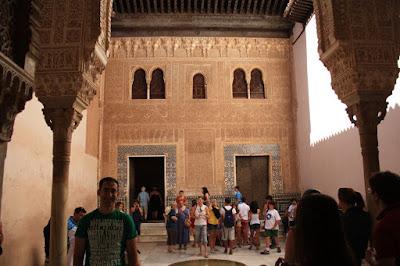 Mexuar room in La Alhambra de Granada