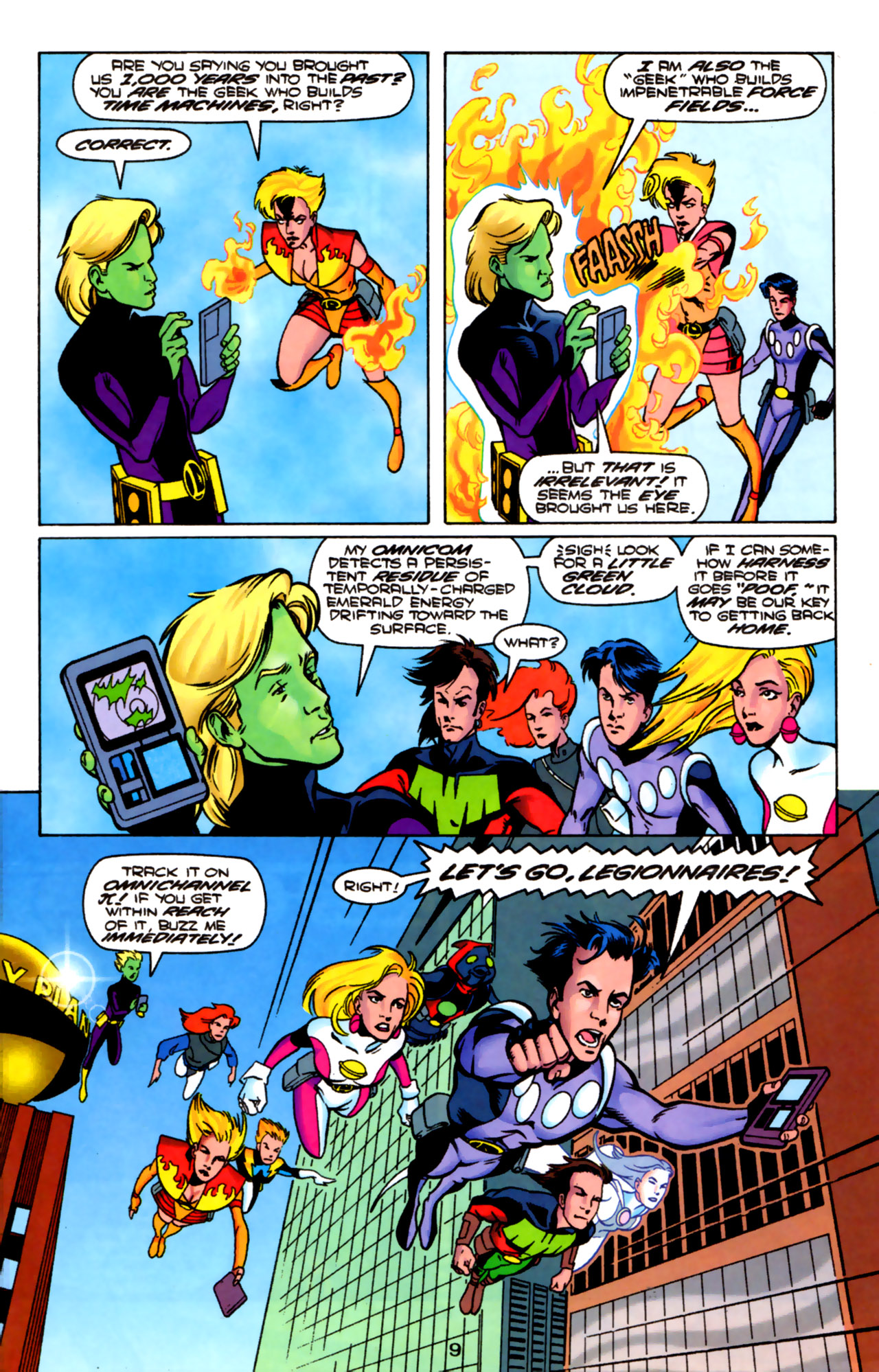 Legion of Super-Heroes (1989) 85 Page 8